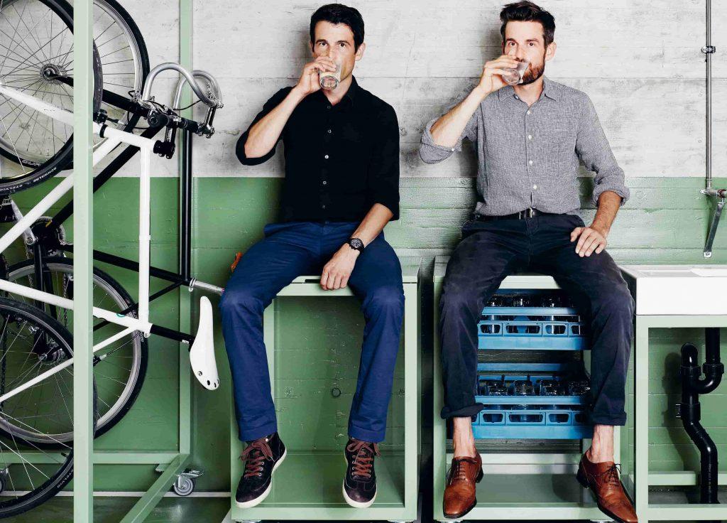 Markus und Daniel Freitag (c)freitag.ch