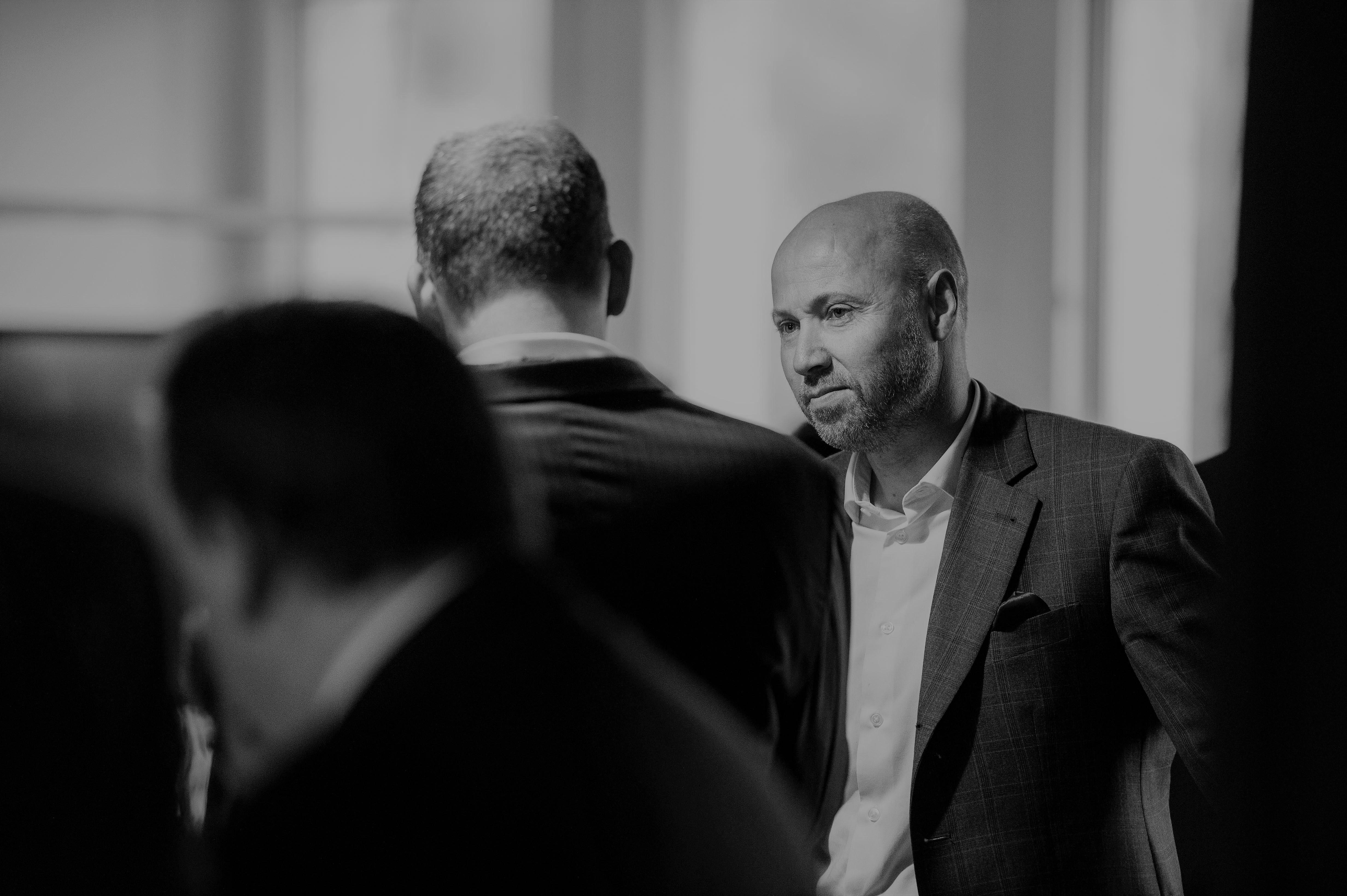 Andreas Krümmel, CEO von Generali Schweiz, bei der Eröffnung der hauseigenen Innovationsgarage.
