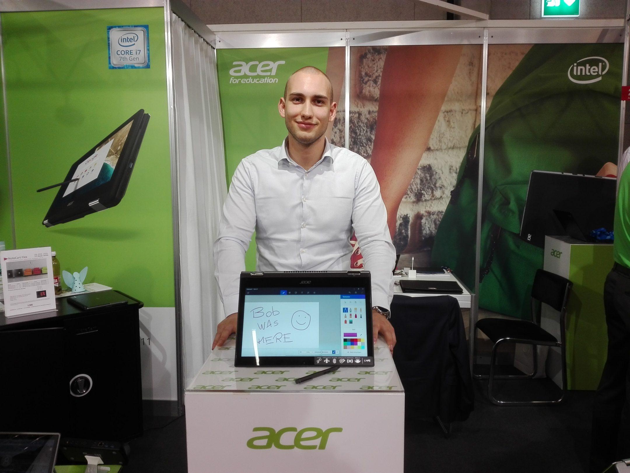 Luka Ugarković, Key Account Manager Commercial BU, Acer Computer (Switzerland) AG